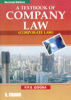 A Textbook of Company Law: (Corporate Law): P. P. S.
