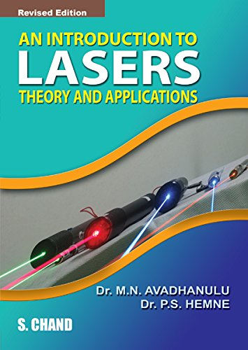An Introduction To Lasers Theory And Applications: M.N.Avadhanulu