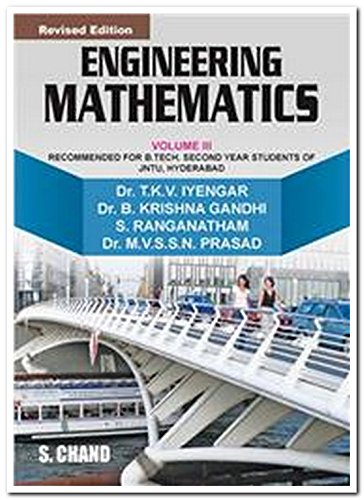 Engineering Mathematics, Volume 3 (Revised Edition): Dr B. Krishna