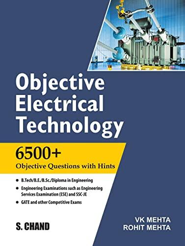 OBJECTIVE ELECTRICAL TECHNOLOGY: ROHIT MEHTA,V.K.MEHTA,
