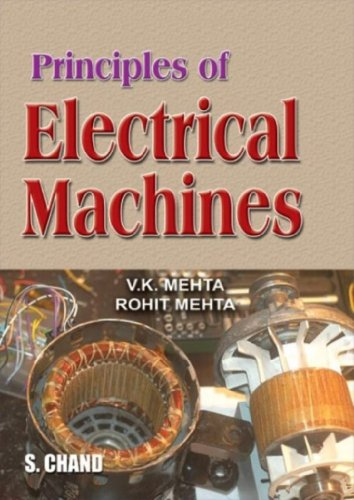 9788121921916: Principles of Electrical Machines [Dec 01, 2006] Mehta, V. K. and Mehta, Rohit