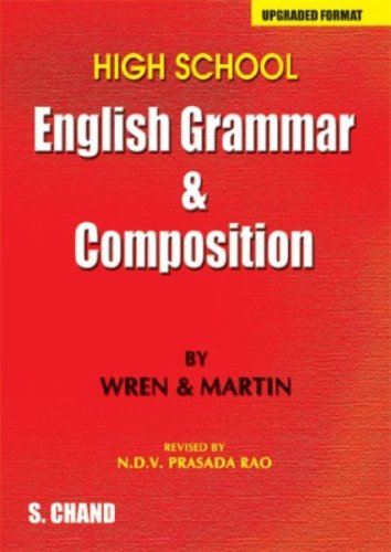 9788121921978: High School English Grammar and Composition