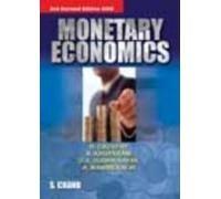 MONETARY ECONOMICS: A MANINEKALAI,N KRUPARNI,R