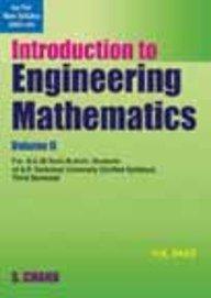 Introduction to Engineering Mathematics, Vol. II (UP): Verma Rama Dass