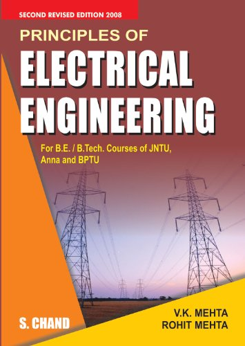 Principles of Electrical Engineering: Rohit Mehta,V.K. Mehta