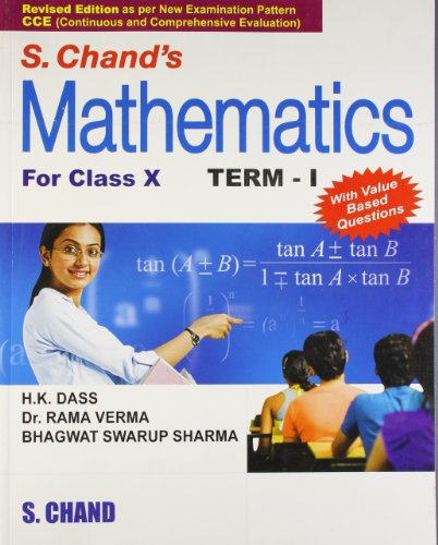 9788121922807: S. Chand's Mathematics For Class - 10, Term - I