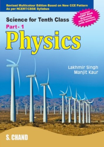 9788121922821: Physics: Science and Technology for Tenth Class, Part One