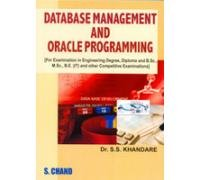 Database Management and Oracle Programming: Khandare S.S.