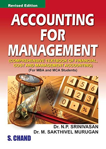 Accounting for Management: Murugan M. Sakthivel
