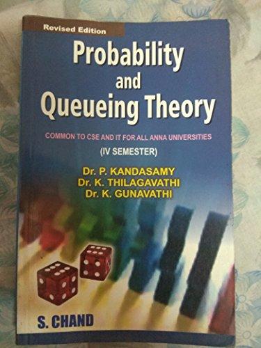 Probability & Queueing Theory: Gunavathi K. Thilagavathy