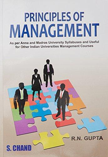 Principle of Management: R.N. Gupta