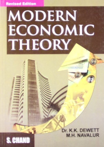 Modern Economic Theory: Dewett
