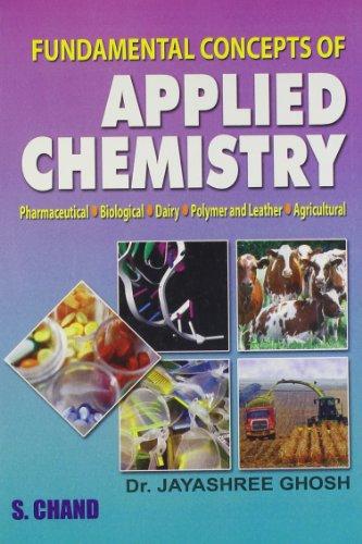 Fundamental Concepts of Applied Chemistry: Dr. Jayashree Ghosh