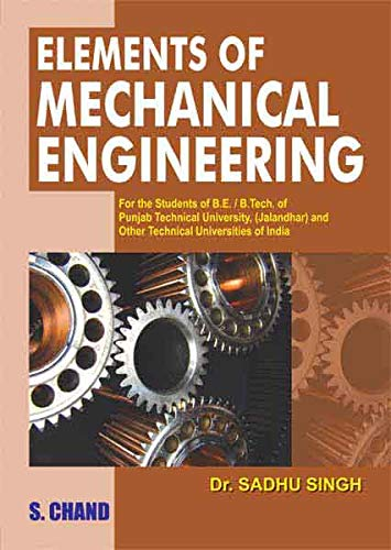 9788121926461: Elements of Mechanical Engineering