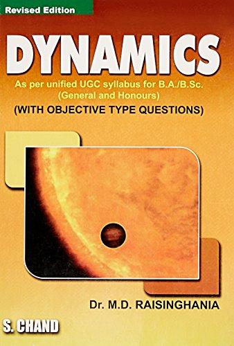 Dynamics, (Revised Edition): Dr. M.D. Raisinghania