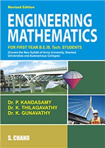 ENGINEERING MATHEMATICS: K GUNAVATHI,K THILAGAVATHI,P