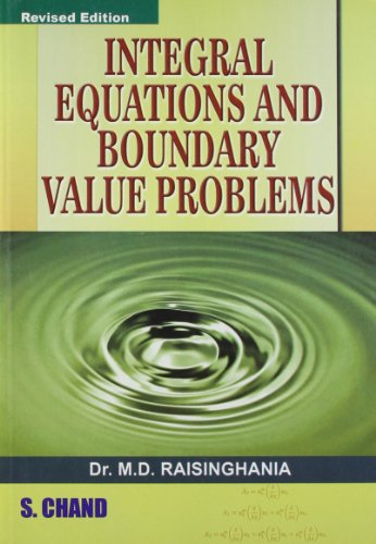 9788121928052: Integratal Equation & Boundary Value Problems