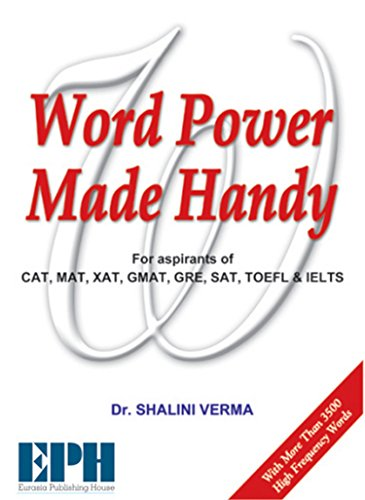 Word Power Made Handy: For CAT, MAT,: Dr. Shalni Verma