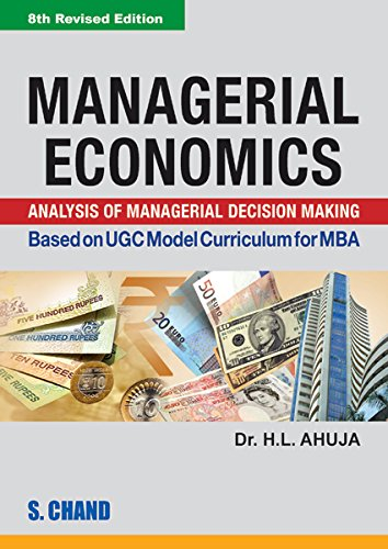 MANAGERIAL ECONOMICS: AMIT AHUJA,H.L.AHUJA