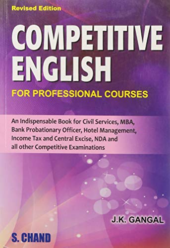 Competitive English: Gangal J.K.