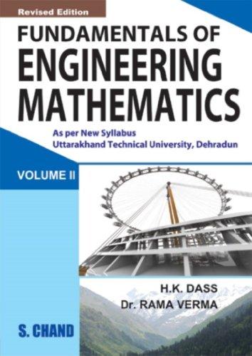 9788121929424: Fundamentals of Engineering Mathematics: Volume 2