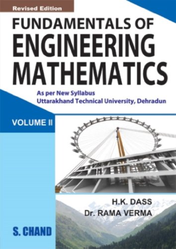 FUNDAMENTAL OF ENGINEERING MATHEMATICS VOL-II(UTTRA KHAND): H K DASS,