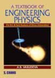 A Textbook of Engineering Physics (Orissa): Vasudeva A.S.