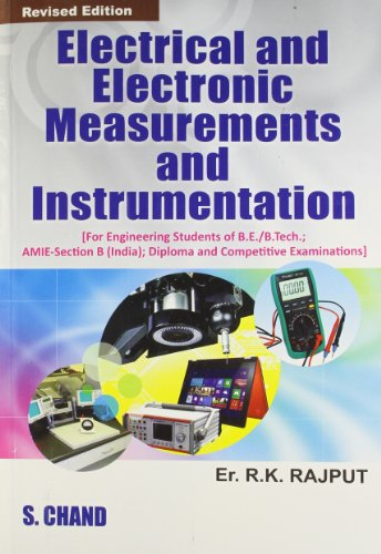 ELECTRICAL & ELECTRONIC MEASUREMENT & INSTRUMENTATION: R.K.RAJPUT,