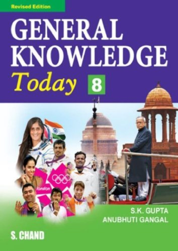 GENERAL KNOWLEDGE TODAY-8: ANUBHUTI GANGAL,S K GUPTA