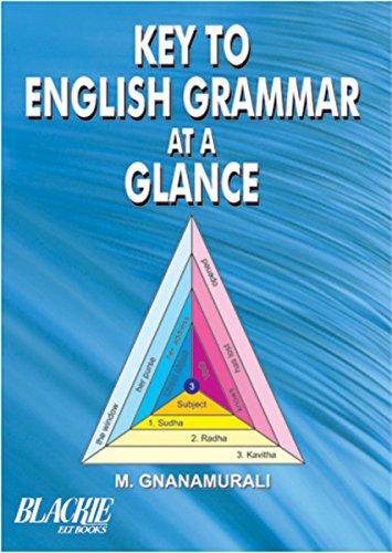 Key to English Grammar at a Glance: M. Gnanamurali