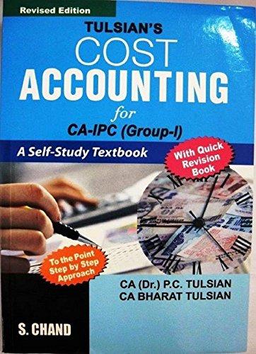 Tulsian?S Quick Revision For Cost Accounting, Ca-Ipc: P.C. Tulsian &