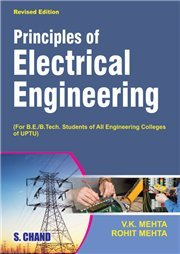 Principles Of Electrical Engineering For UP And UK VK MehtaRohit Mehta