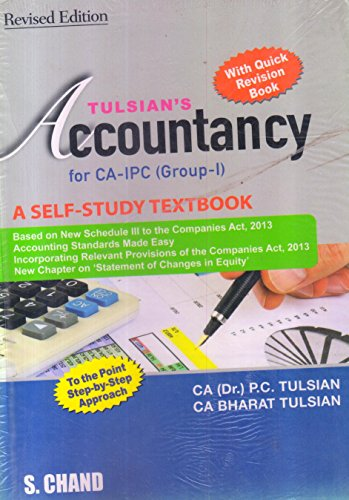 TULISAN'S ACCOUNTANCY FOR CA-IPCC WITH QUICK REV.: BHARAT TULSIAN,PADAM CHANDTULSIAN