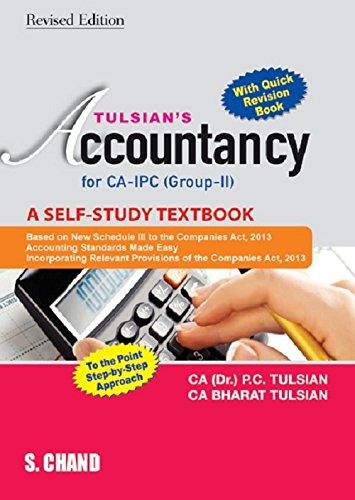 TULSIAN'S ACCOUNTANCY & QUICK REVISION FOR CA: BHARAT TULSIAN,PADAM CHANDTULSIAN,