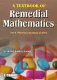 9788121931427: A Textbook of Remedial Mathematics: for JNTU Pharmacy Students