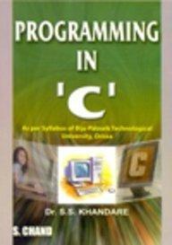 Programming in 'C': Khandare S.S.