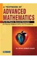 A Textbook of Advanced Mathematics for Pharmacy Second Semester: Dr. Riyaz Ahmad Khan