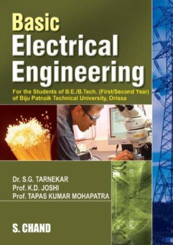 BASIC ELECTRICAL ENGINEERING (BPTU,ORISSA): K.D.JOSHI,S G TARNEKAR,TAPAS