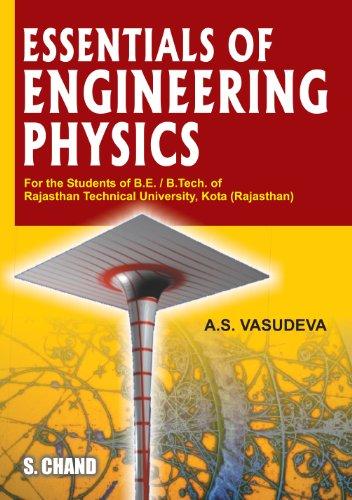 Essentials of Engineering Physics (Rtu): A.S. Vasudeva
