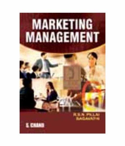 MARKETING MANAGEMENT: R S N