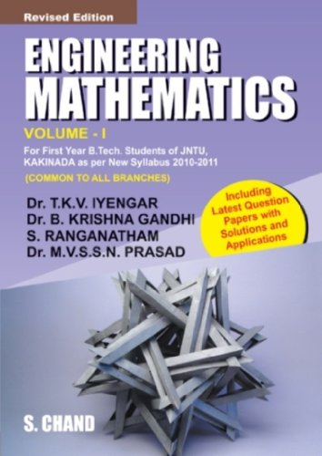 ENGINEERING.MATHEMATICS VOL-I KAKINADA: B KRISHNA GANDHI,M
