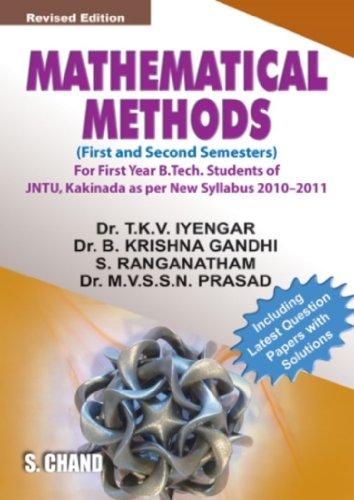 9788121932615: Mathematical Methods: for JNTU Students (Kakinada) 2010-2011