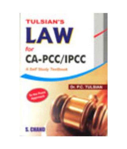 Tulsian`s Law for CA-PCC/IPCC: Dr. P.C. Tulsian