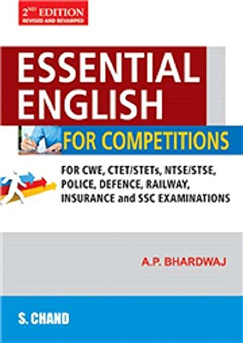 Essential English For Competitions: A. P. Bhardwaj