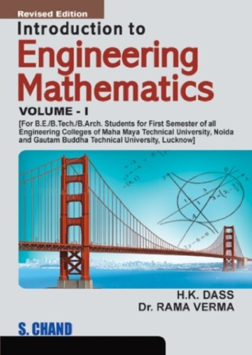 Introduction to Engineering Mathematics Volume-I: Rama Verma: Rama Verma