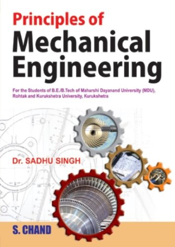 Principles of Mechanical Engineering: Dr. Sadhu Singh