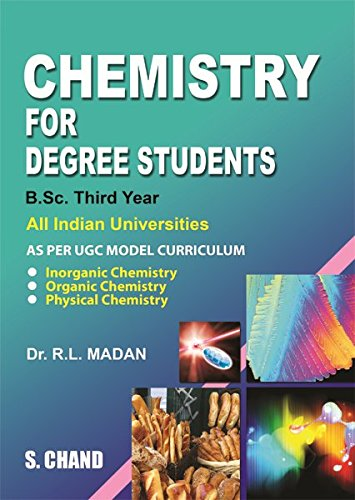 9788121935333: Chemistry for Degree Students: B. Sc. 3rd Year