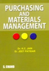 Purchasing and Materials Management: Jeet Patidar,Dr. K.C.