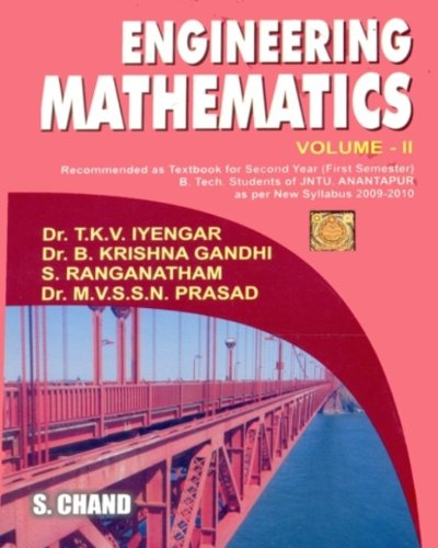 ENGINEERING MATHEMATICS VOL-II (ANANTPUR): B KRISHNA GANDHI,M