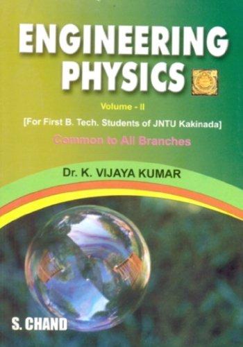 Engineering Physics, Volume II: Dr. K. Vijaya Kumar